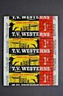 1958 TOPPS *TV WESTERNS * 1 CENT WAX WRAPPER **RARE**