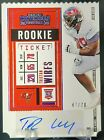Contenders Football Rookie Ticket Autographs Visual History: 1998-2017 36