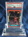 Michael Jordan 1986 Fleer Rookie Card 57 PSA 85 Very High End Centered