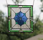 Stained Glass Window Panel Beveled Hanging 175 X 175