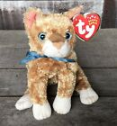 TY Beanie Baby Mattie the Orange Tabby Cat 2002 Retired Mint New With Tags