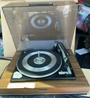 Panasonic Turntable Vintage Automatic Record Player Wood Grain Stereo Works