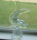 Dolphin Glass Figurine Murano Italy Large 13 Tall with Tag