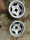 2 x Wolfrace wheels 14 x 7 inch 4.5 inch centres