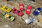 BMW M 1 BASF C 8 and other die cast cars