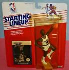 1988 MOSES MALONE Washington Bullets rc EXNM sole Starting Lineup + Display Dome
