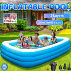 Inflatable Swimming Pool Blow Up Family Pool For Adult Children Indoor Outdoor