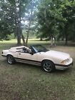1988 Ford Mustang LX 1988 Ford Mustang Convertible Brown RWD Automatic LX