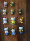 HELLO KITTY My Busy Books 12 Figure Set - includes Rare Mouse