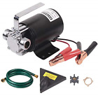 EXTRAP DC 12Volt 330 GPH Portable Low Suction Electric Water Transfer Removal