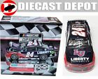 AUTOGRAPHED WILLIAM BYRON 2020 DAYTONA FIRST WIN RACED VERSION LIBERTY 1 24 ACT