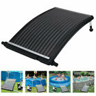 Curve Solar Pool Compatible Heater Panel Water Warmer for Above Ground Swimming