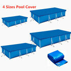 Pool Cover Rectangle Swimming Pool Covers for Above Ground Intex Frame Pool