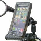 Phone Holder Scooter Moped Bike Mirror Mount  Rain Cover for Large Smartphones