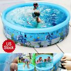 PVC INFLATABLE SWIMMING POOL CHILDREN INDOOR OUTDOOR LARGE FAMILY SUMMER OUTDOOR