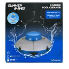Summer Waves Cordless Rechargeable Robotic Swimming Pool Vacuum Cleaner System
