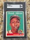 Vintage Topps Hank Aaron Baseball Cards Showcase Gallery and Checklist 76