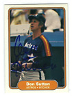 Don Sutton Baseball Cards and Autographed Memorabilia Guide 44