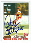 Don Sutton Baseball Cards and Autographed Memorabilia Guide 36