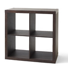 Better Homes  Gardens 4 Cube Square Storage Organizer Multiple Finishes