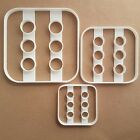 Die Dice Six Game Gamble Shape Cookie Cutter Dough Biscuit Pastry Fondant Stamp