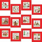 Herrschners Christmas Charm Greeting Cards Counted Cross Stitch Kit