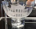 Disney Parks HAUNTED MANSION Artist Glass Bowl Arribas Brothers In Hand