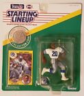 BARRY SANDERS 1991 Starting Lineup W Coin & Card  NM Football - DETROIT LIONS