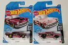 Hot Wheels Super Treasure Hunt Rod Squad 57 Chevy and mainline lot of 2