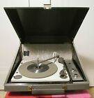 Vintage Zenith Solid State Battery Powered Portable Record Player