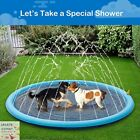 Summer Sprinkler Pad Kids Pet Dog Pool Inflatable Outdoor Play Water Mat Toys