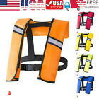 Inflatable Life Jacket Adult Water Sports Swimming Fishing Survival Life Vest US