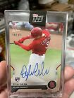 2021 Topps Now Road to Opening Day Dylan Carlson Autograph Auto RC Rookie 99