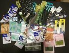 Huge Lot Misc Jewelry Making Supplies Seed Beads Glass Bead and  Crystal