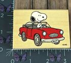 Stampabilities Snoopys Convertible Rubber Stamp 2008 GR1139 Peanuts Wood AC94
