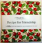HTF 2007 MARY ENGELBREIT RECIPE FOR FRIENDSHIP COTTON FABRIC 5 CHARM PACK