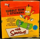 2002 TOPPS THE SIMPSONS BOX TRADING STICKERS UNOPENED 24 PACKS FACTORY SEALED