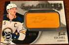 Jack Eichel Signs Exclusive Autograph Card Deal with Leaf 22
