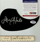 Fantasy Island & Bionic Woman star Lucy Hale signed acoustic pickguard PSA DNA