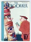 New Yorker magazine April 21 1934 Paul Hyde Bonner Clarence Day Hannah Lees VF