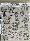 Stampers Anonymous Jim Holtz Collection Mini Cats  Dogs CMS272 New Sealed