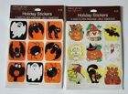 VTG Halloween Sealed STICKERS American Greetings Witch Skull JOL Monster GHOST
