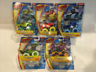 Set Lot Of 5 Blaze And The Monster Machines Die Cast MONSTER ENGINE Pickle Zeg