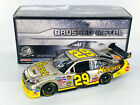 KEVIN HARVICK AUTOGRAPHED 2009 REESES BRUSHED METAL 124 NASCAR DIECAST