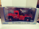 118 WELLY RED 1956 FORD F 100 TOW TRUCK RAINBOW ROAD SERVICES DIE CAST MIB