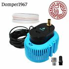850 GPH Swimming Pool Cover Pump Above Ground W 16 Drainage Hose and 3 Adapters