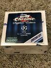 2021 UEFA Champions League Topps Chrome Sapphire Edition One Sealed Box