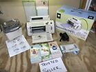 Cricut Expression Personal Electronic Cutter CRV001 With Cartridges Jukebox LOT