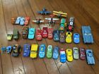 Lot of 35 Disney Cars  Planes toy vehicles mostly diecast Lightning McQueen