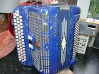 CRUCIANELLI  CHROMATIC ACCORDION 80 BASS  C SYSTEM only 7KG